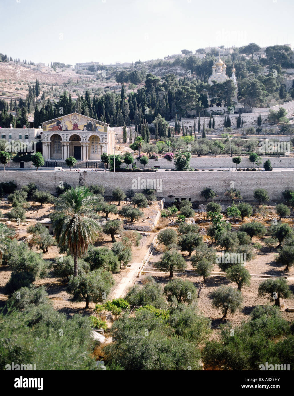 Geography Travel Israel Jerusalem Mount Of Olives