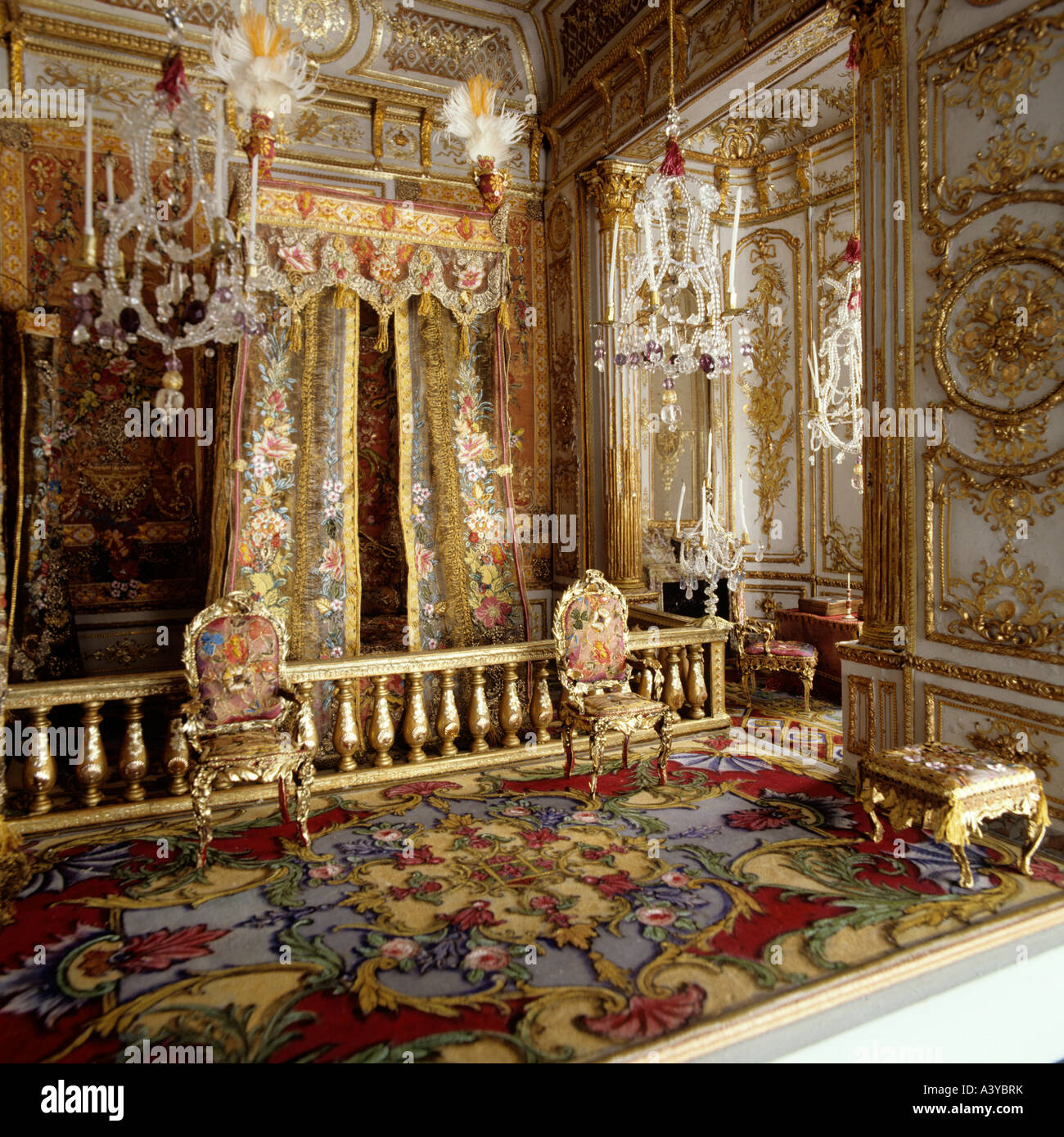 Superior Grand Hall In A Thierry Bosquet Dolls House With Interiors Inspired By  Rooms At Versailles