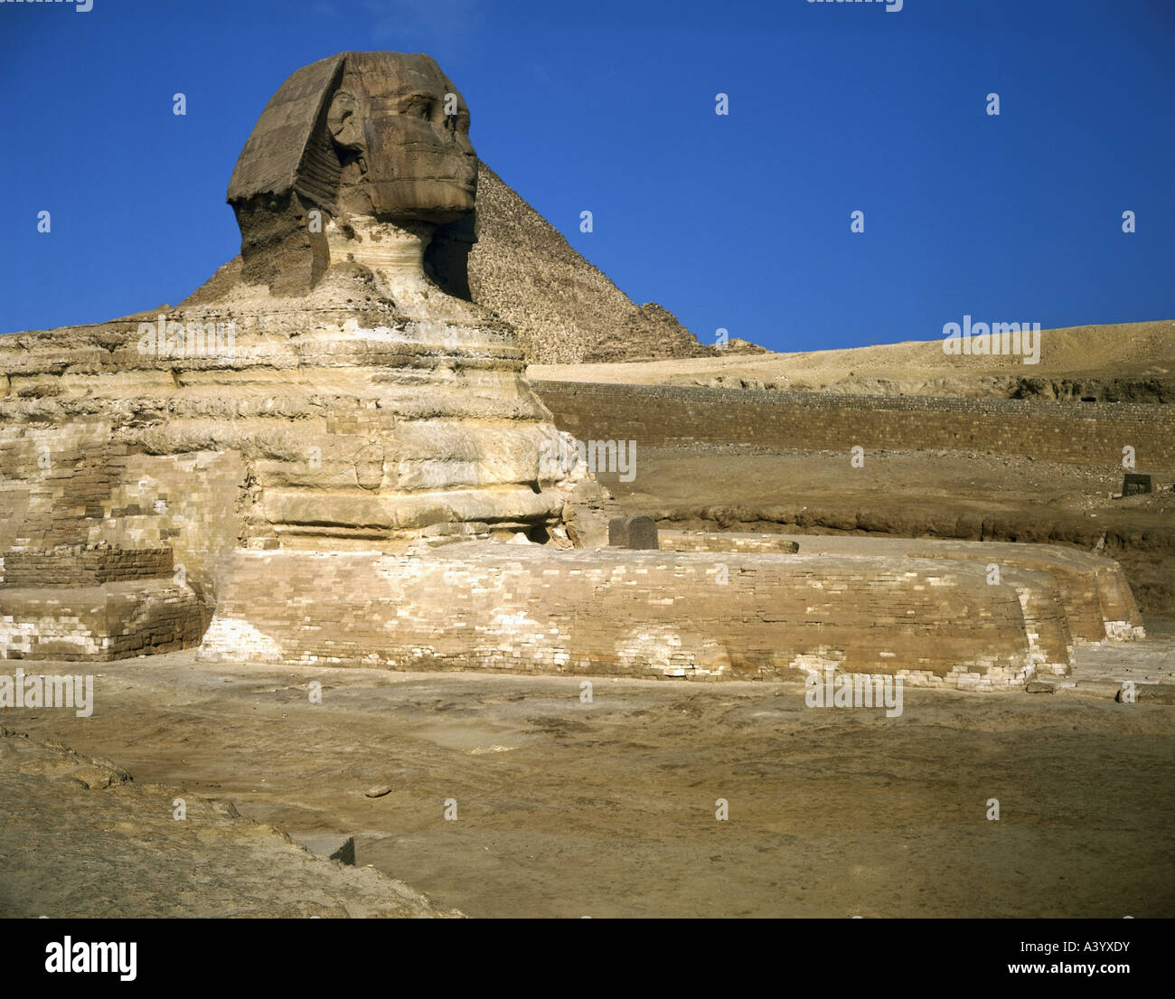 Travel Geography: Travel /geography, Egypt, Giza, Great Sphinx, Circa 2700