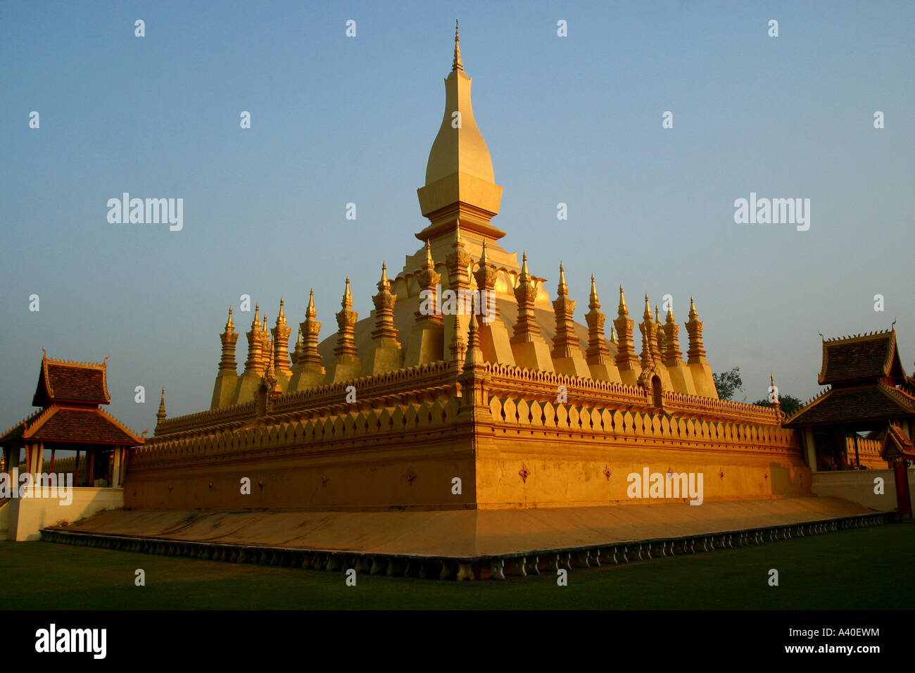 A Symbol For Laos And One Of The Most Important Religious Sites Of