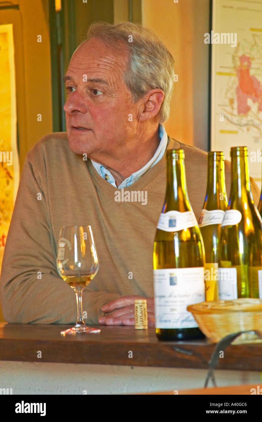 Domaine chardonnay burgundy bourgogne stock photos - La table d olivier leflaive puligny montrachet ...
