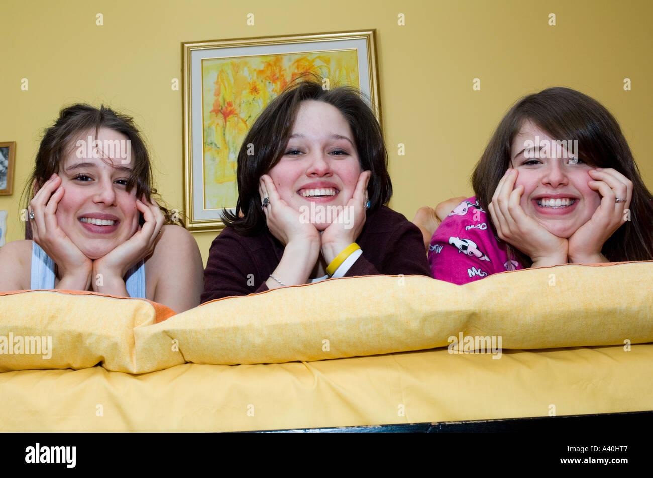 three angel faces stock photo 6225222 alamy