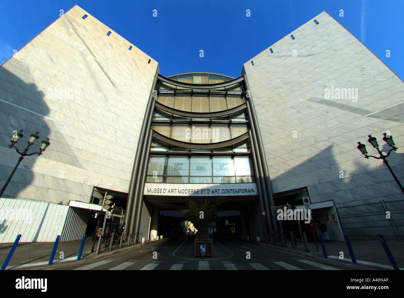 Museum Of Modern Art Nice France Stock Photo 3556782 Alamy