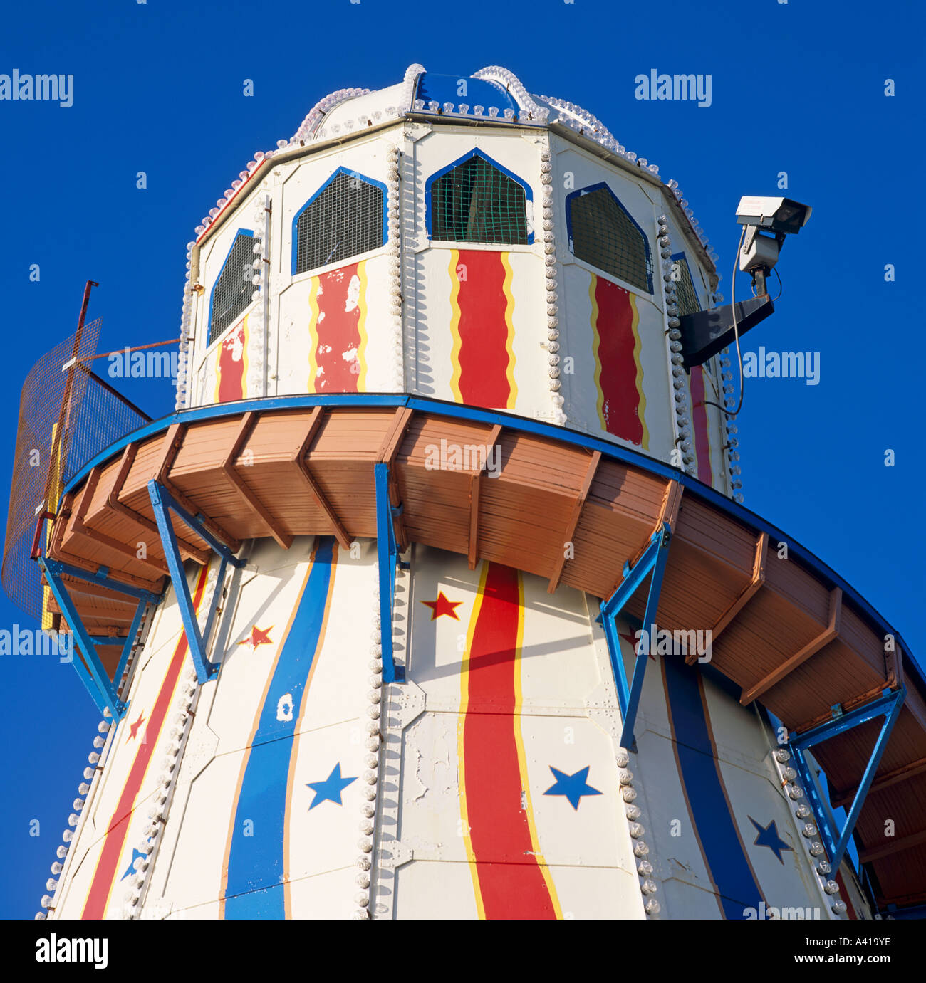 Helter Skelter The Royal Pier Brighton Sussex U.K. Europe Stock Photo