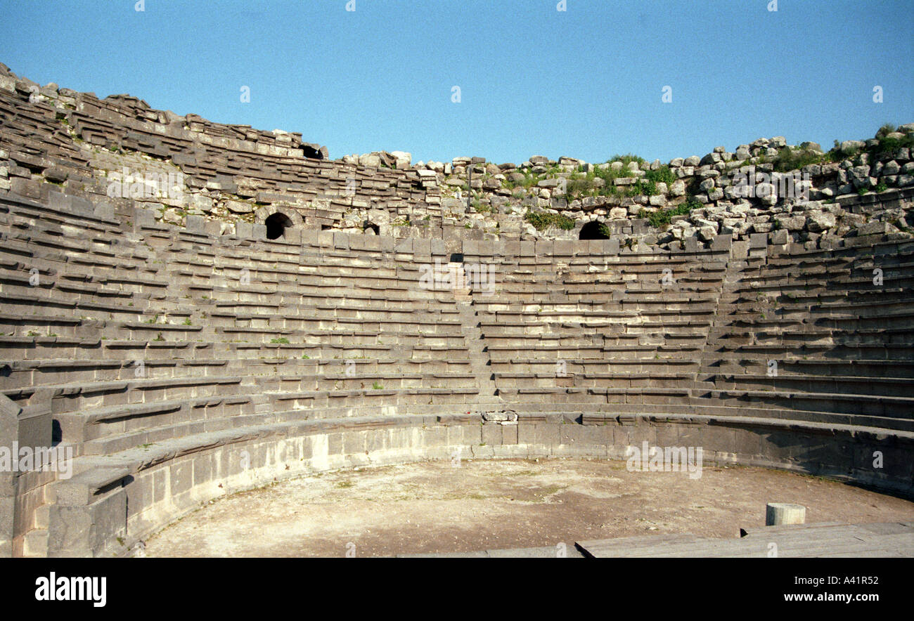 West Theatre Umm Qays Jordan - Stock Image