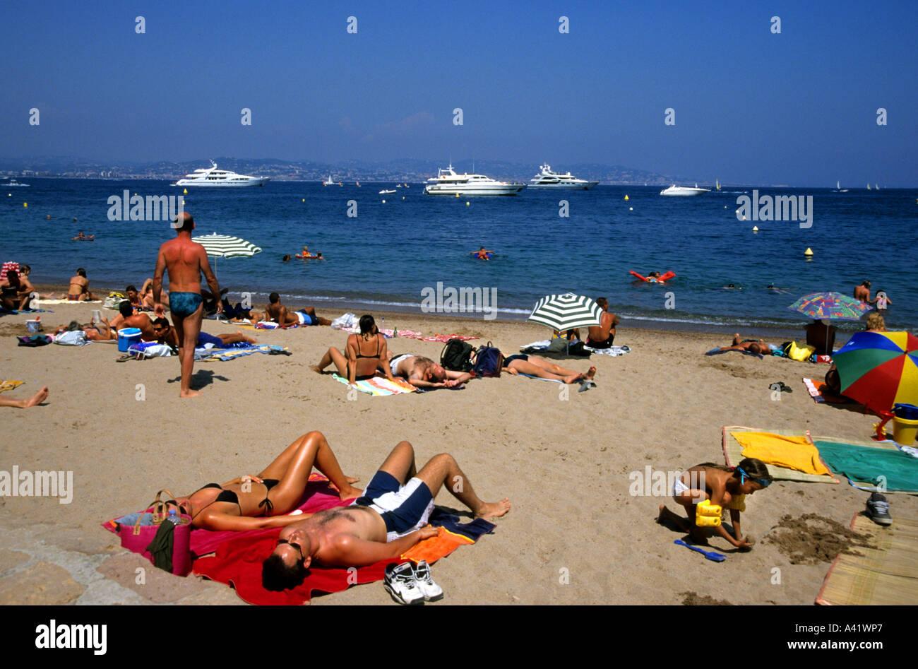 Plage de pampelonne c te d 39 azur saint tropez france beach stock photo 6232102 alamy - Plage de saint tropez ...