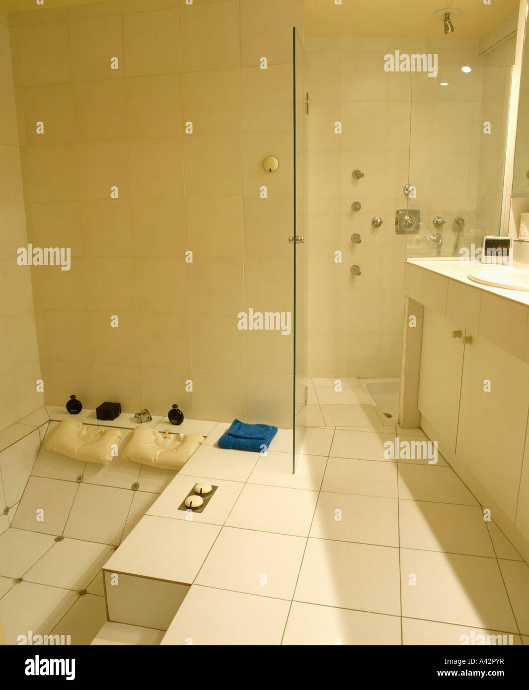 bathrooms interiors showers town stock photos   bathrooms bathroom glass doors in trichur kerala bathroom glass doors at home depot