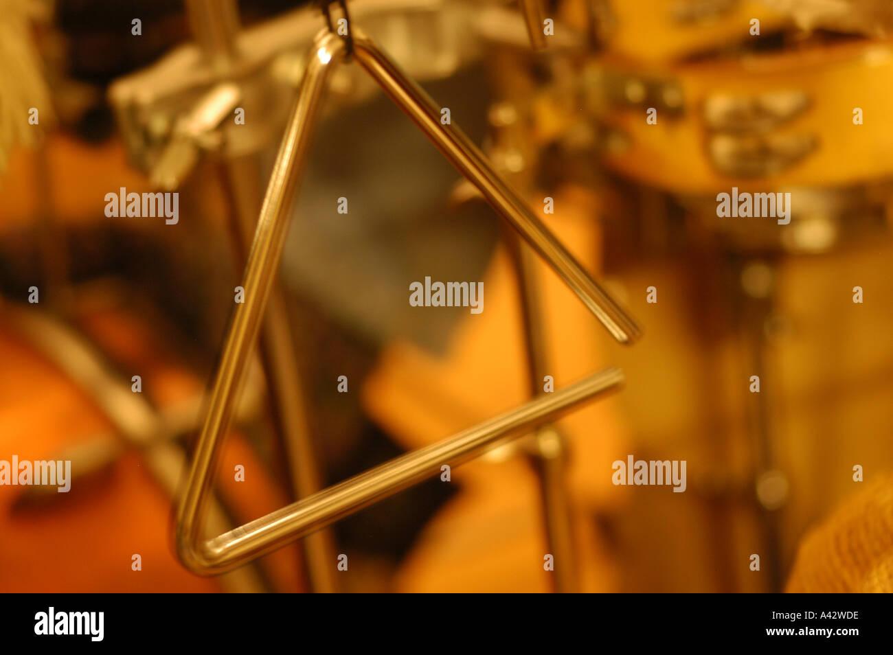 triangle - Stock Image