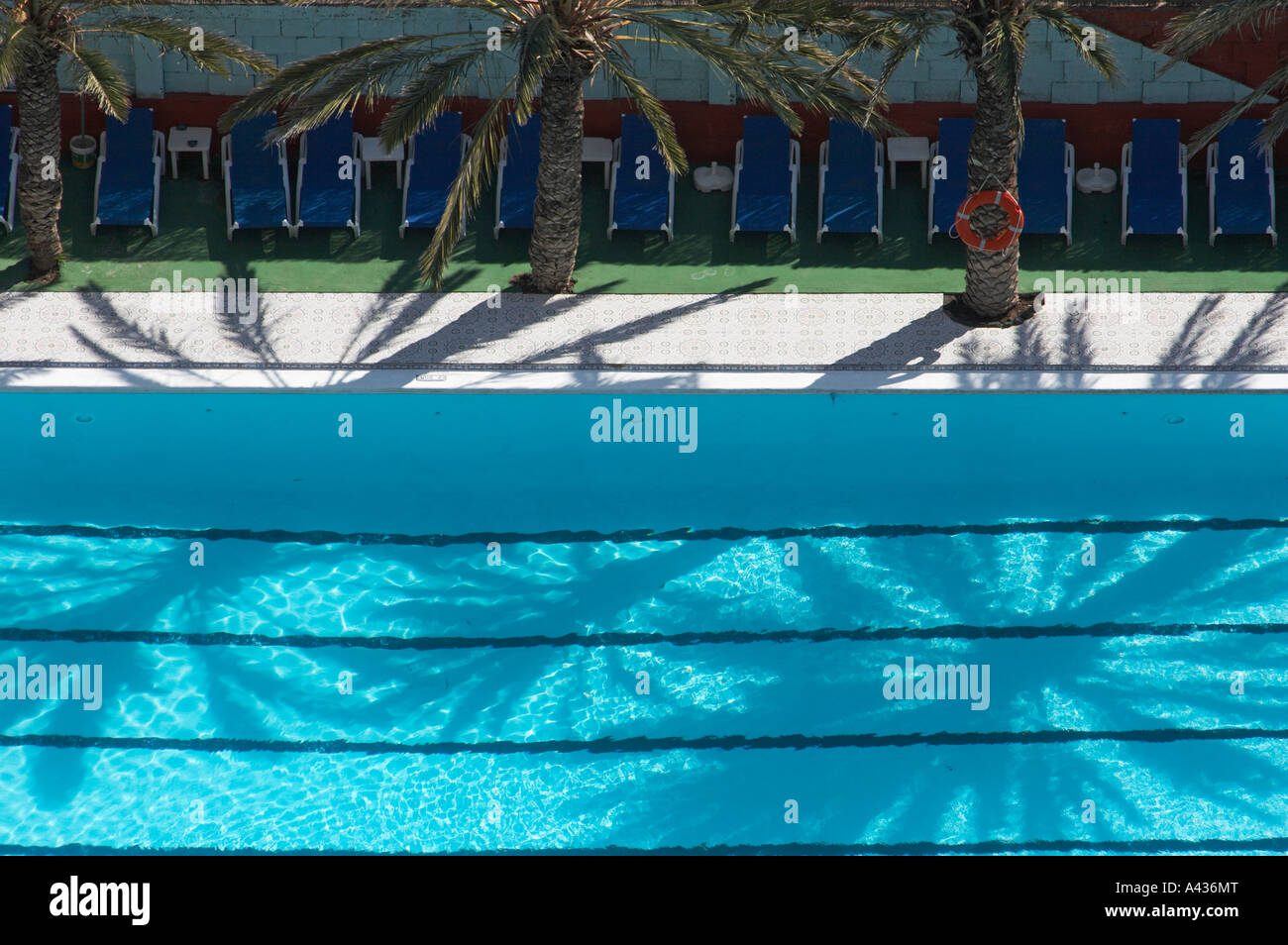 Swimming Lane From Above Stock Photos Amp Swimming Lane From