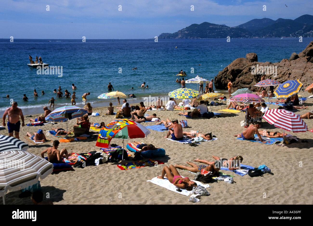 Plage De Pampelonne Saint Tropez St Tropez France Stock Photo
