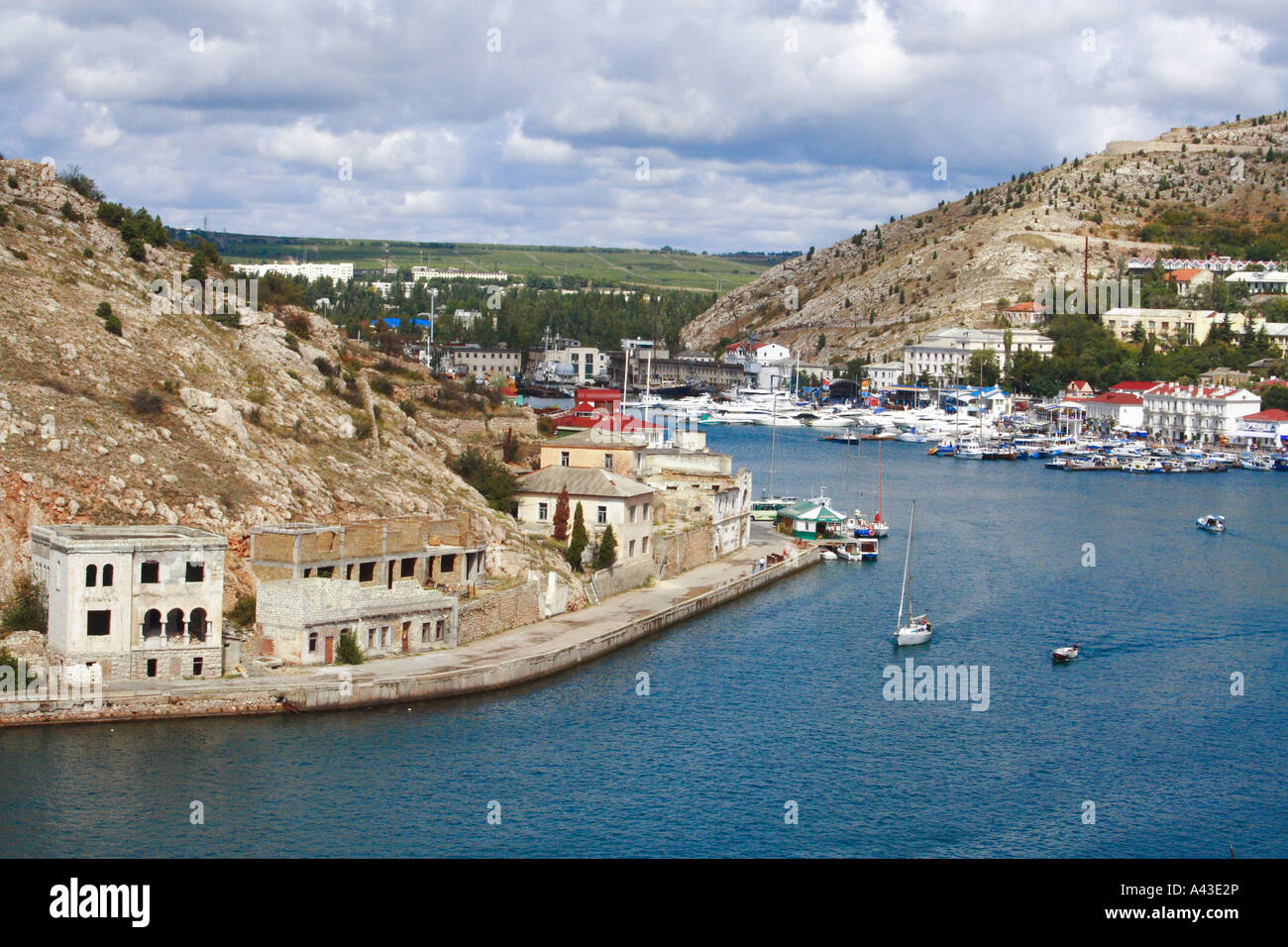 Balaklava Crimea Ukraine - Stock Image