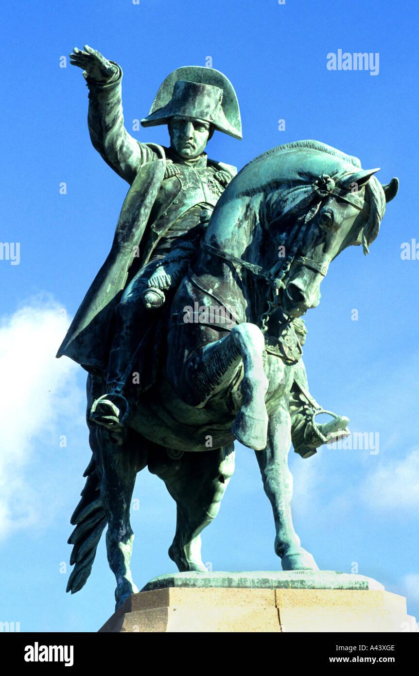 Normandy France Napoleon Bonaparte Cherbourg French - Stock Image