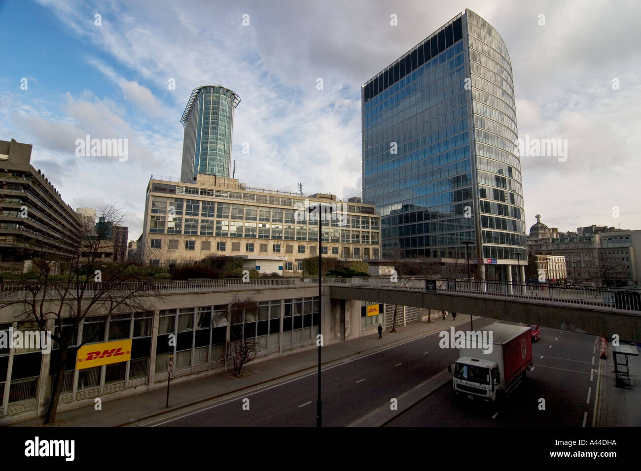 Citypoint and Moor House, Moorgate, London - Stock Image