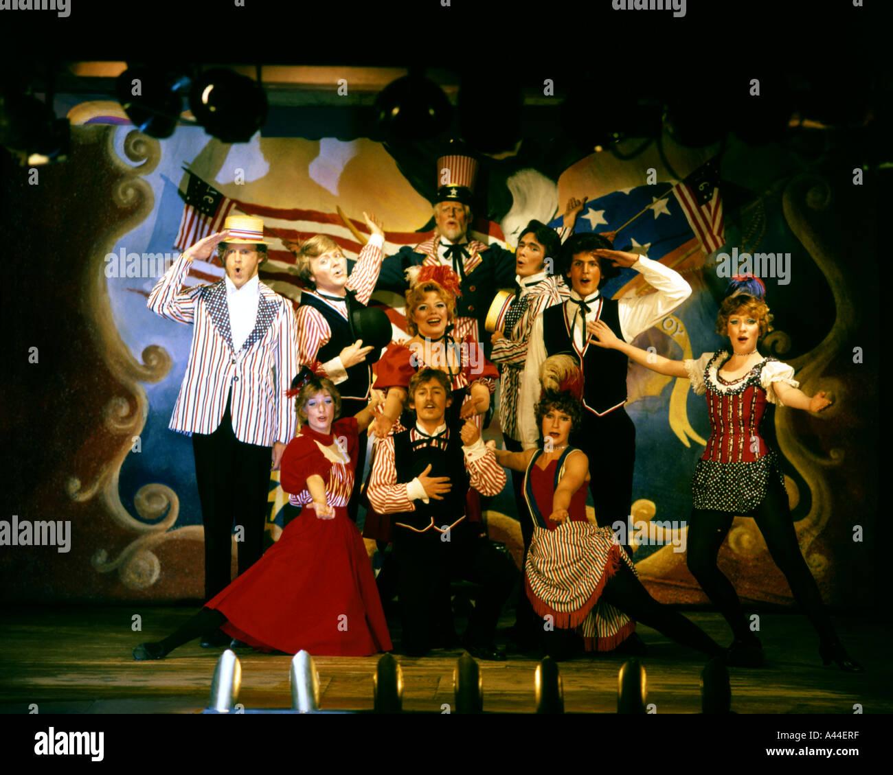 USA - MONTANA:  Virginia City Players at Virginia City Opera House, Montana, USA - Stock Image