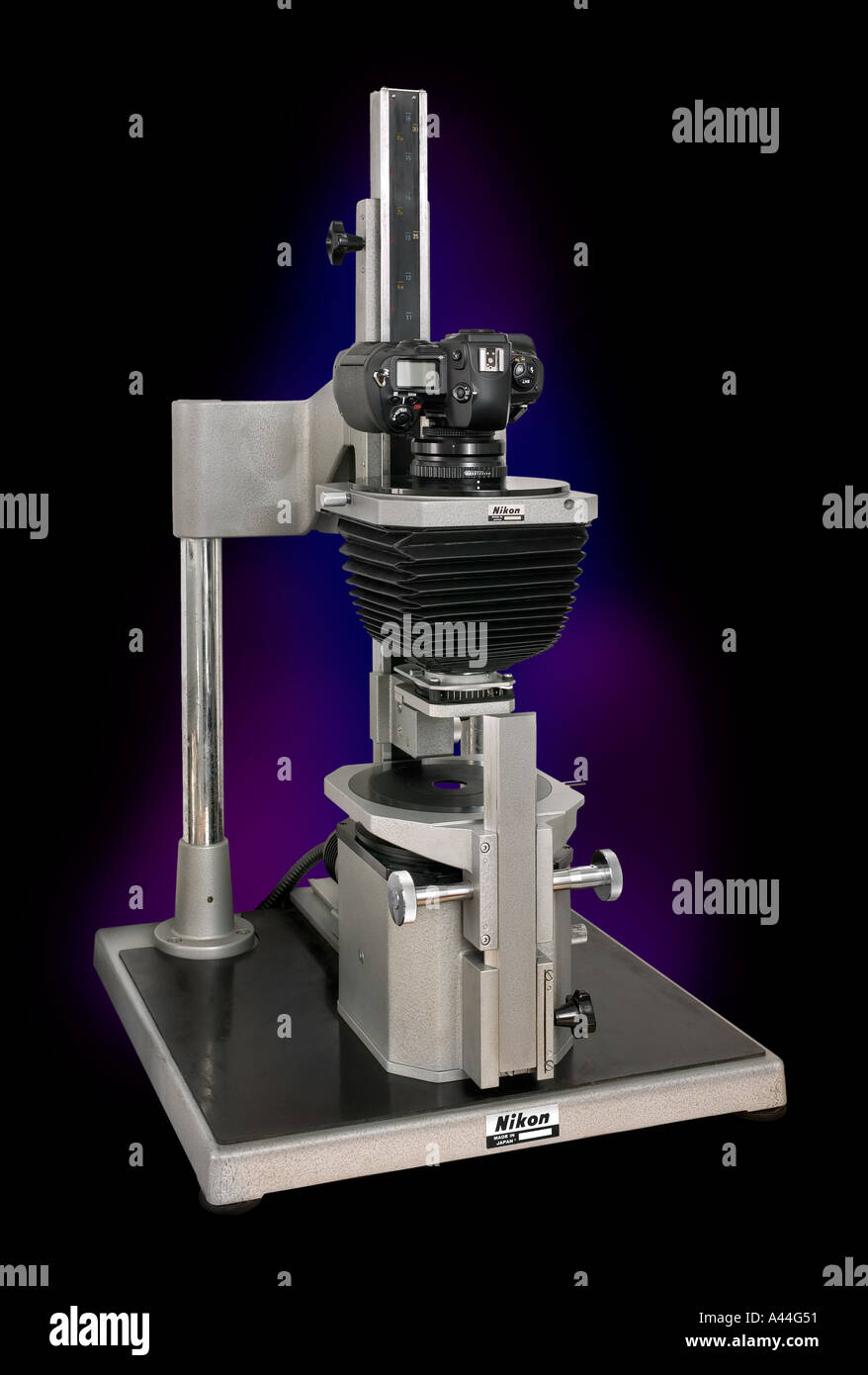 Nikon D1 Stock Photos Images Alamy Multiphot Macro System With Camera Trans Illuminator Back Lighting Image