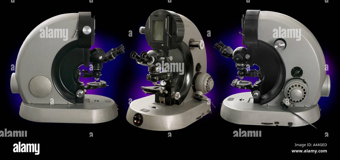 Zeiss compound Ultraphot 2 microscope, large laboratory model, 1950+ - Stock Image