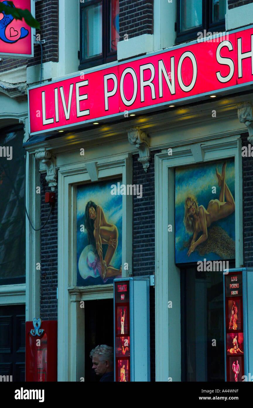 Амстердам порношоу