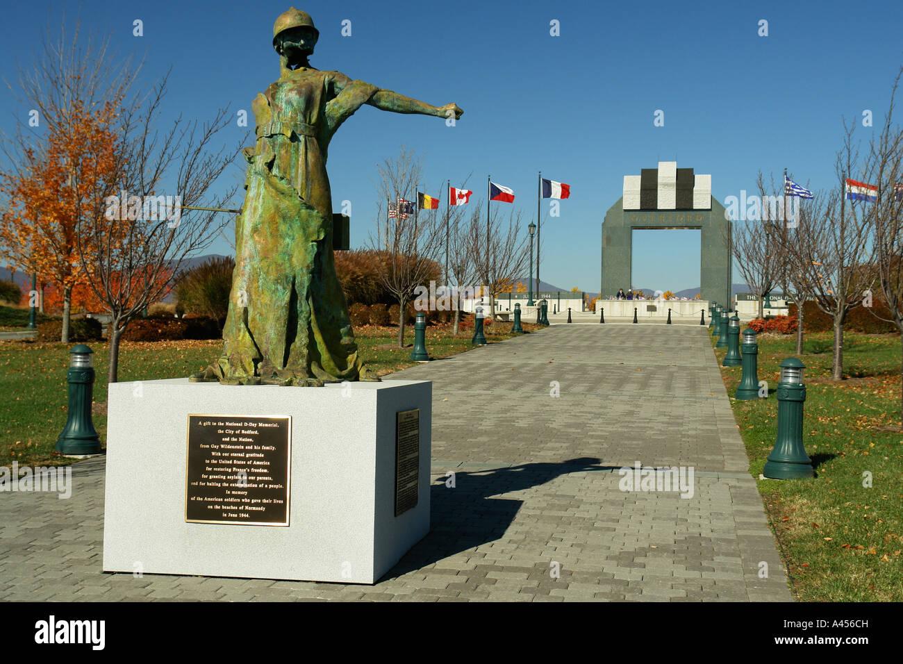 Ajd53900 Bedford Va Virginia The National D Day Memorial