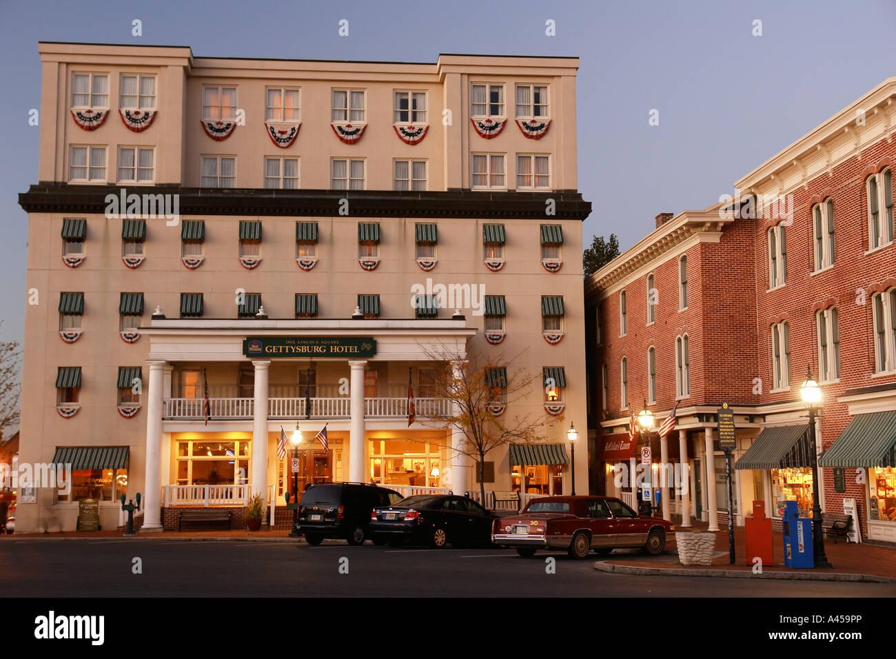 ajd53441 gettysburg pa pennsylvania downtown. Black Bedroom Furniture Sets. Home Design Ideas