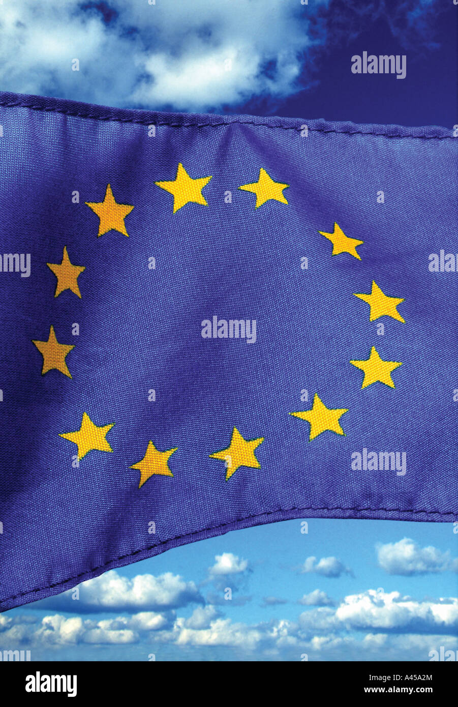 European EU flag - Stock Image
