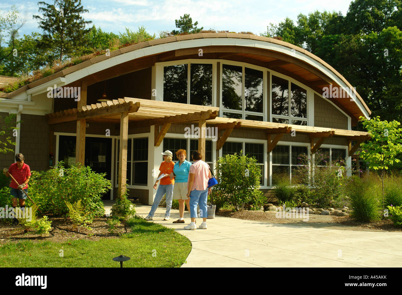 AJD57786, Erie, PA, Pennsylvania, Asbury Woods Nature Center Stock ...