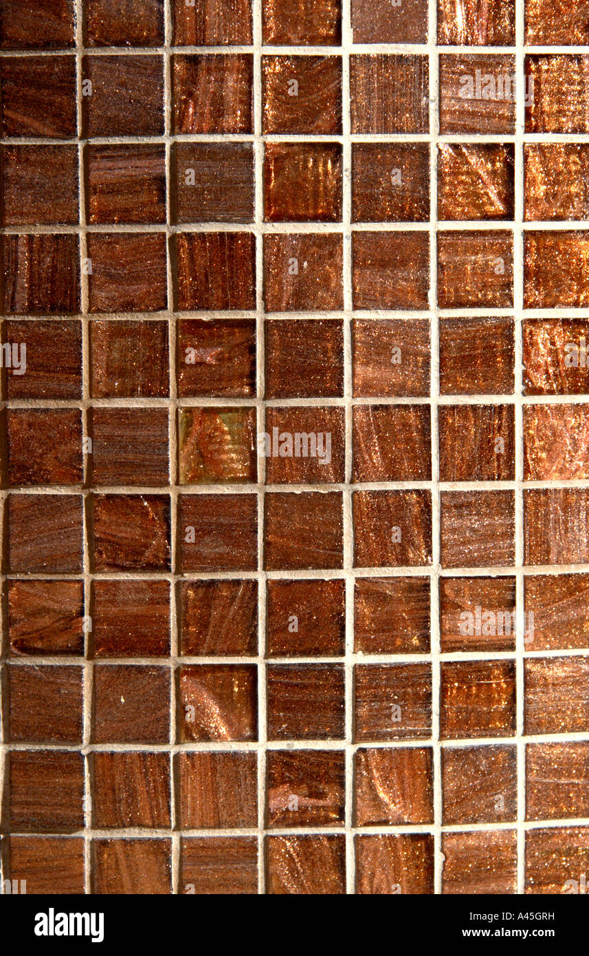 copper coloured tiles pattern Stock Photo: 10940884 - Alamy