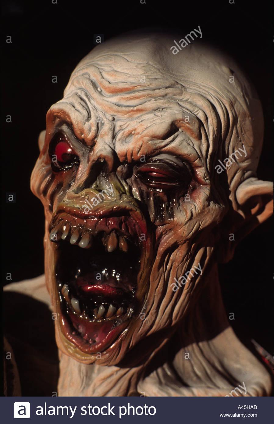 Monster Horror - Stock Image
