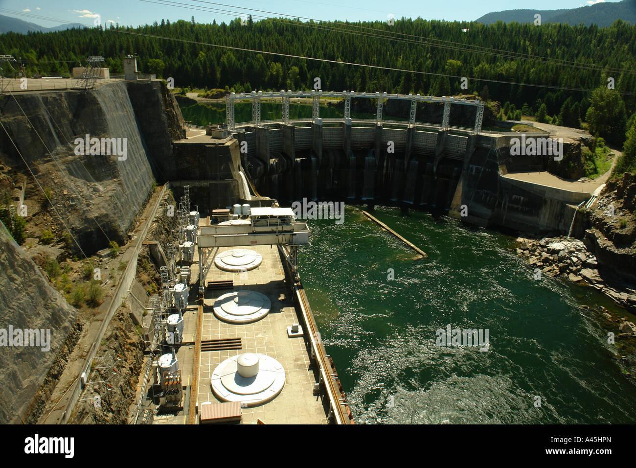 Captivating AJD56365, Clark Fork, ID, Idaho, Cabinet Gorge Dam, Hydroelectric  Development, Clark Fork River