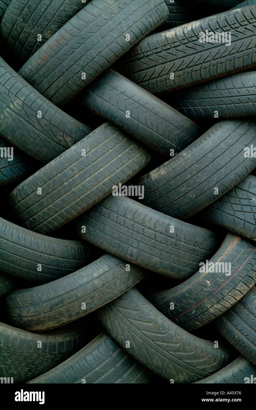 car tyres - Stock Image