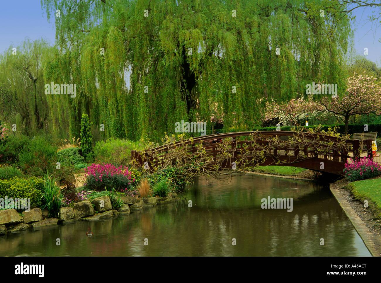 Queen Mary S Garden Regents Park Gardens London Stock