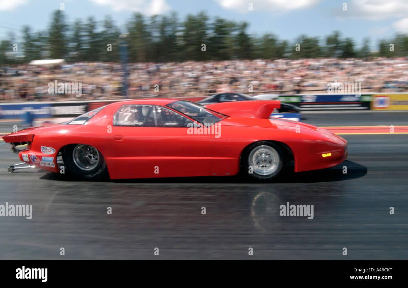 Pro Stock Pontiac Firebird Muscle Car Racing At Lalastro