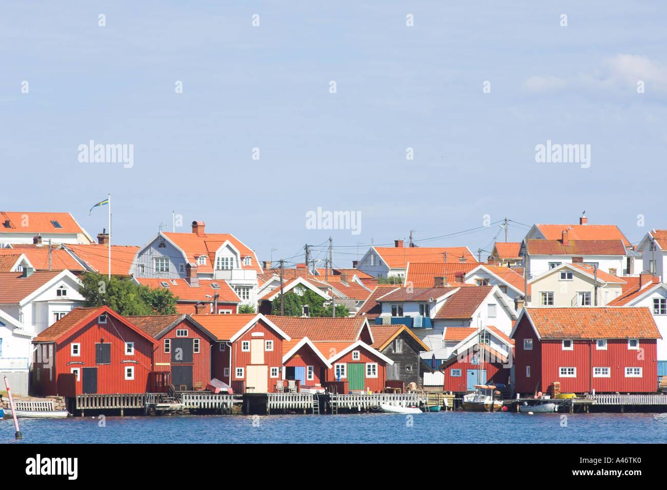 Gullholmen. Orust, Bohuslän, Sweden Stock Photo