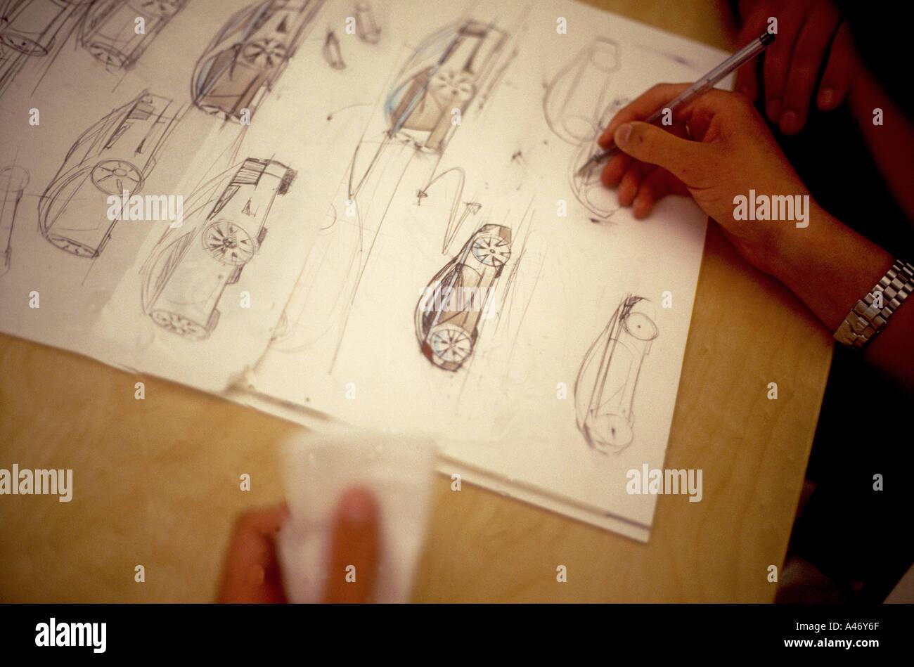 Car Design Sketch Stock Photos Car Design Sketch Stock Images Alamy