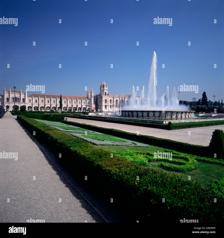 Hieronimus monastery Stock Photo