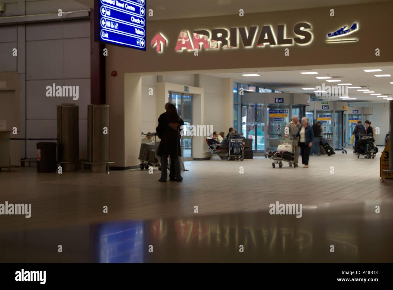 Luton Airport Arrivals Stock Photo 6267074 Alamy