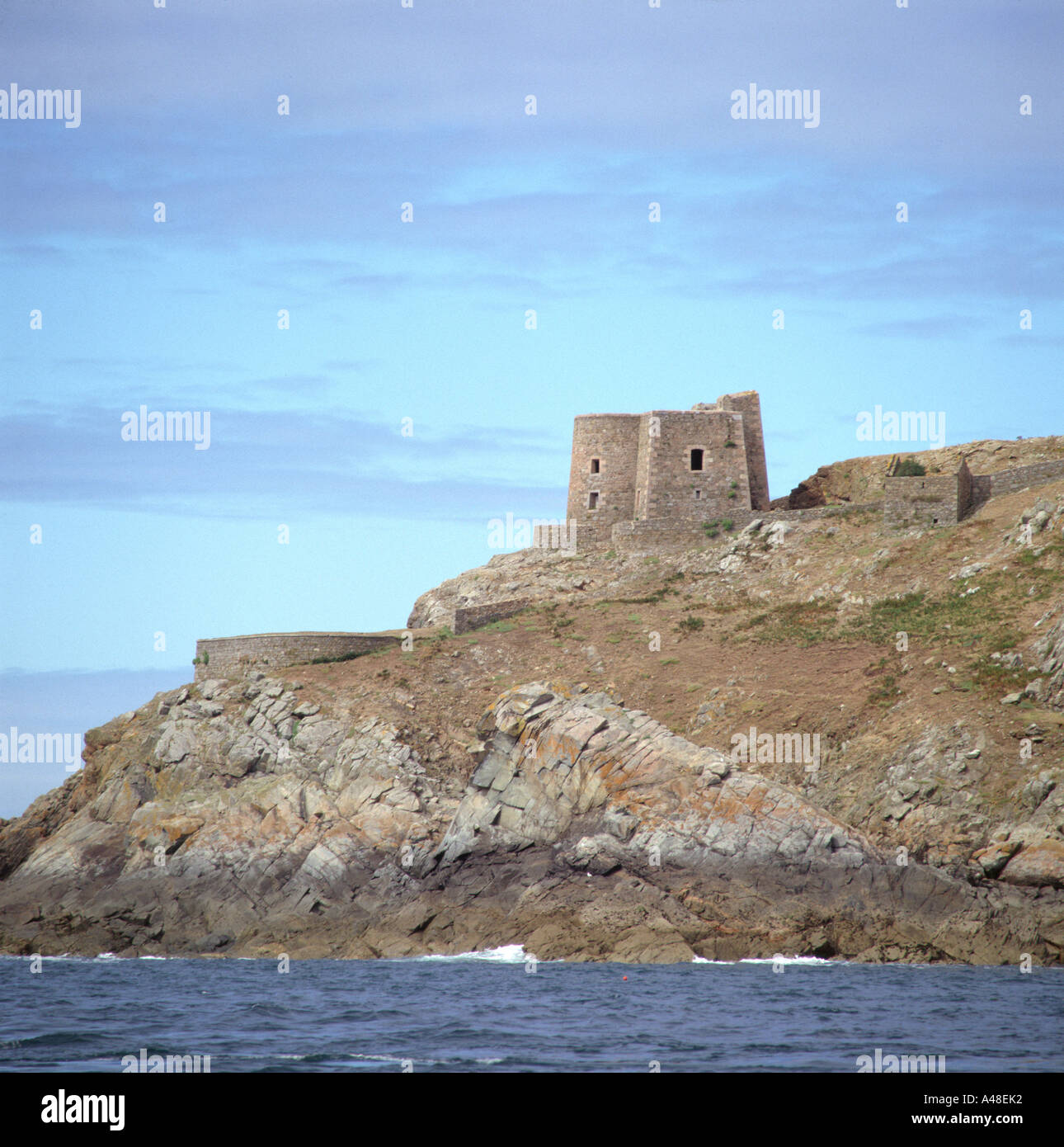 Fort / Sept Iles - Stock Image