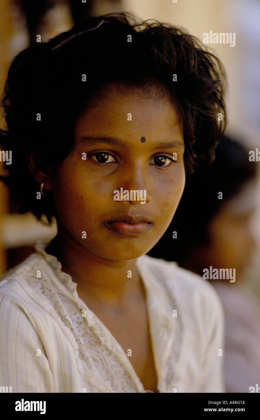 Pretty Tamil Girl Stock Photos & Pretty Tamil Girl Stock