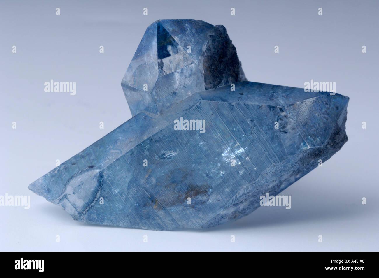 Celestine / Aqua aura - Stock Image