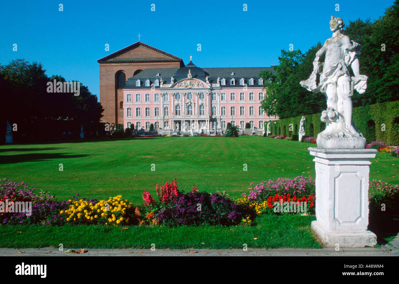 Electoral palace / Trier Stock Photo
