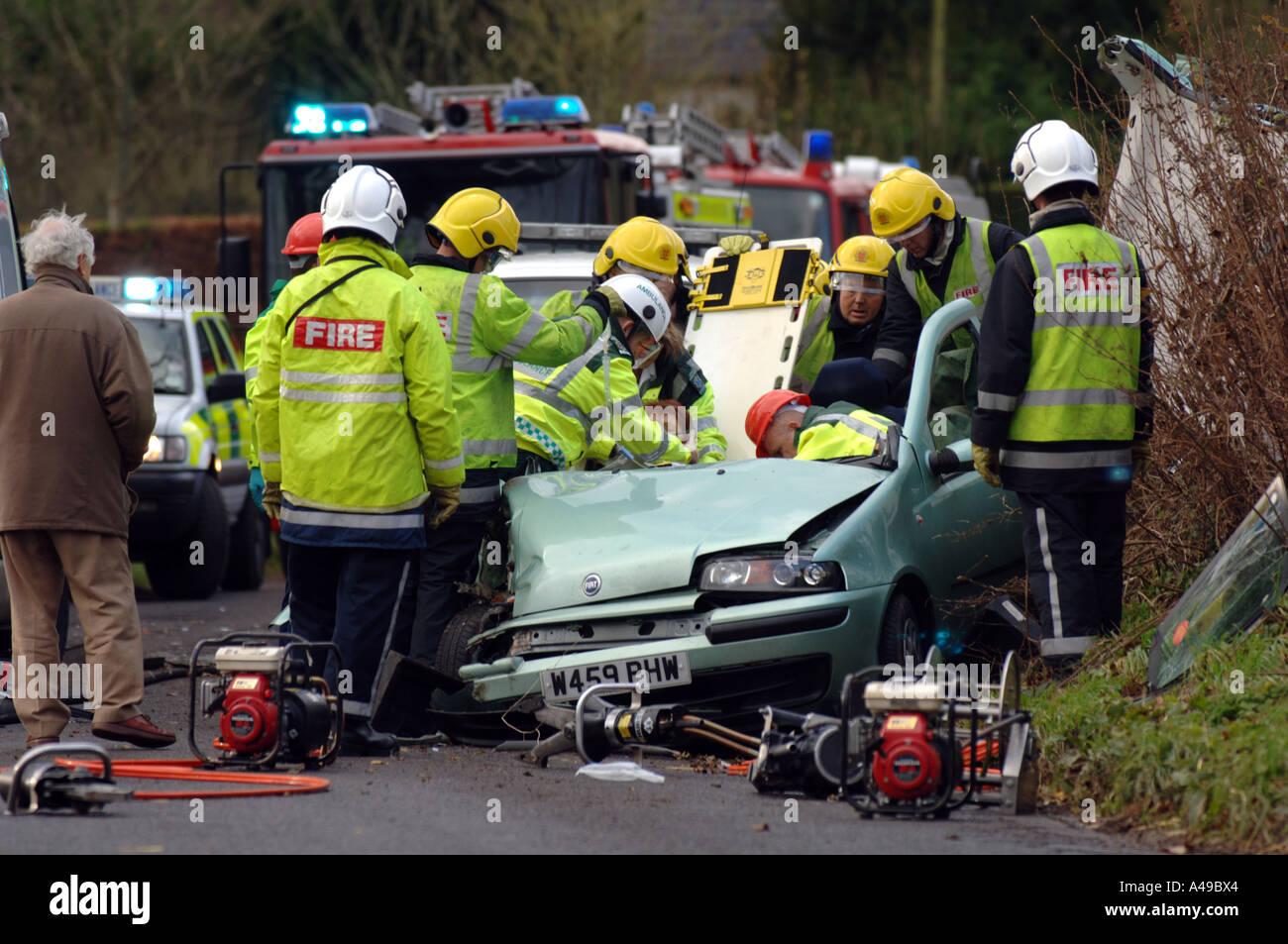 Car crash road traffic accident crash rta rtc Stock Photo: 6272483 ...