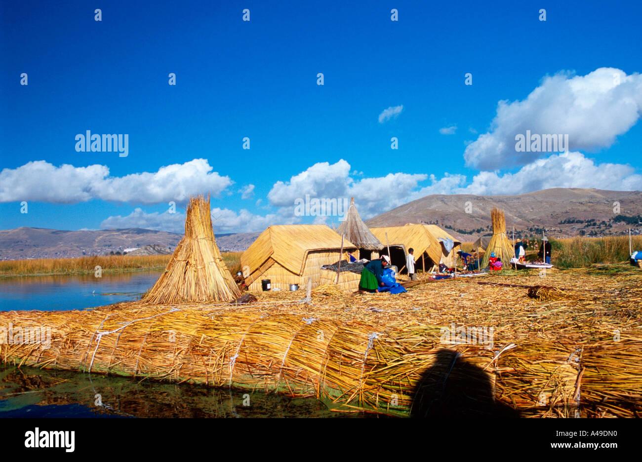 Uro village / Uro-Dorf - Stock Image
