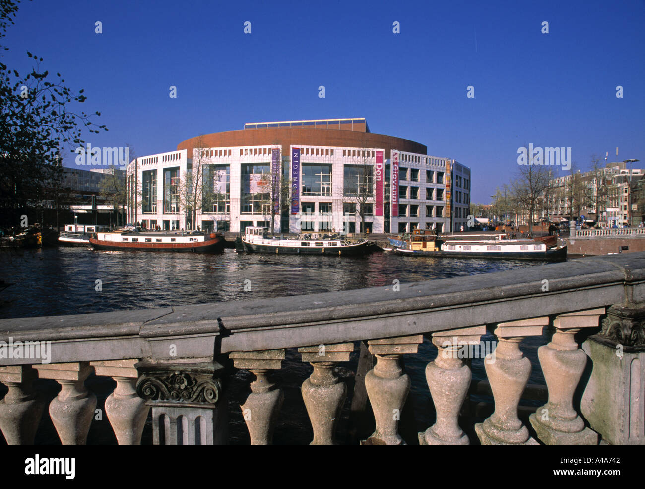 Opera House Muziektheater Amsterdam Holland Stock Photo 304962