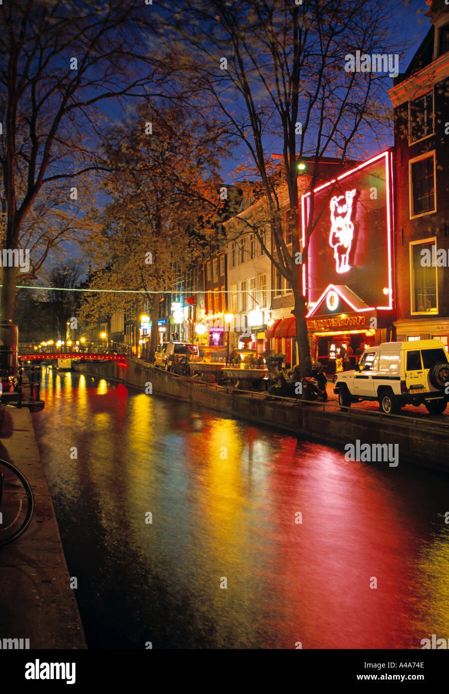 Red Light District, Amsterdam, Holland - Stock Image