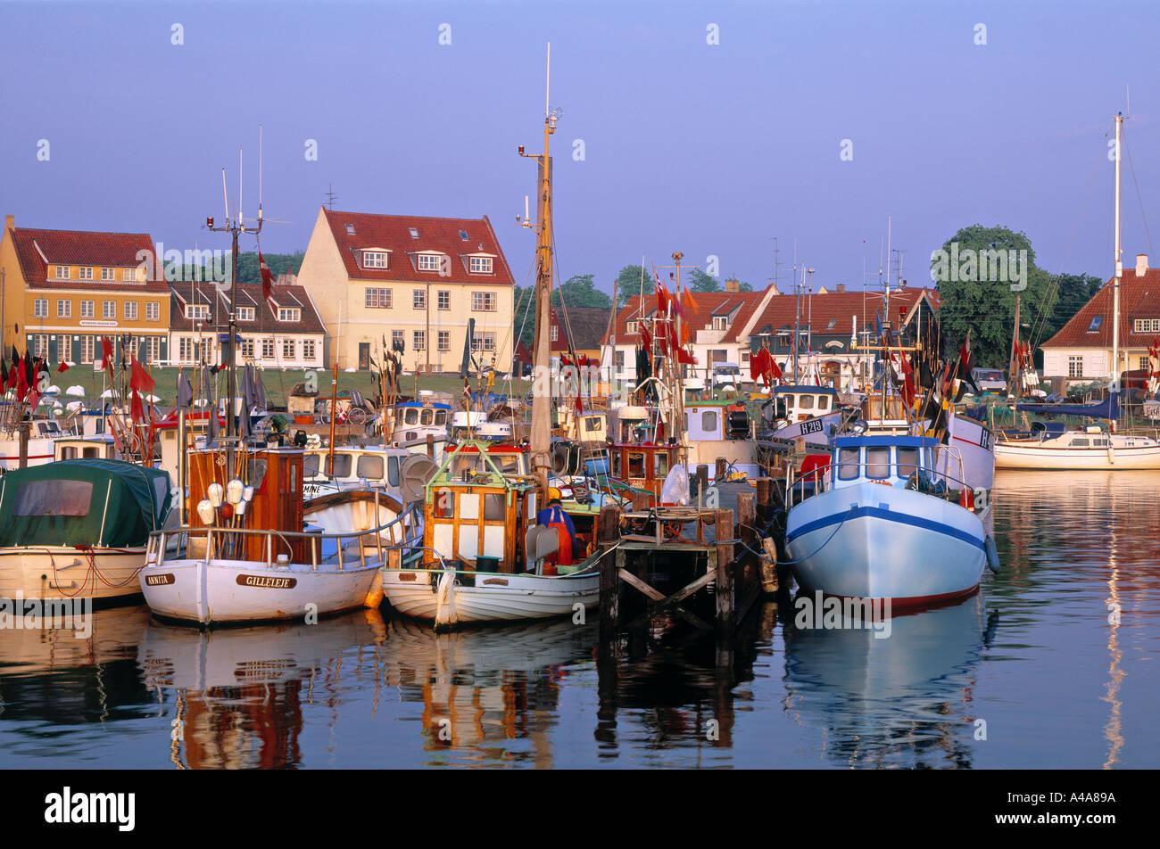 Gilleleje, Sjaelland, Denmark - Stock Image