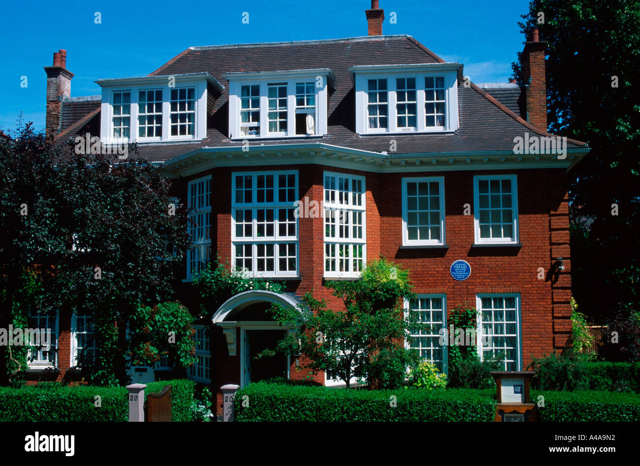 Sigmund Freud House / London - Stock Image