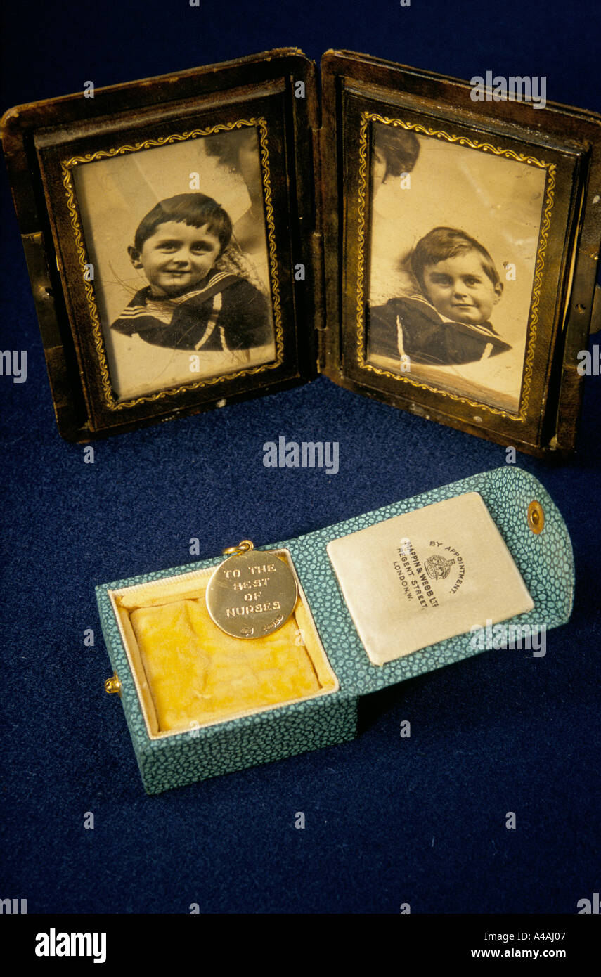items from the archive of Sir Arthur Conan Doyle - Stock Image