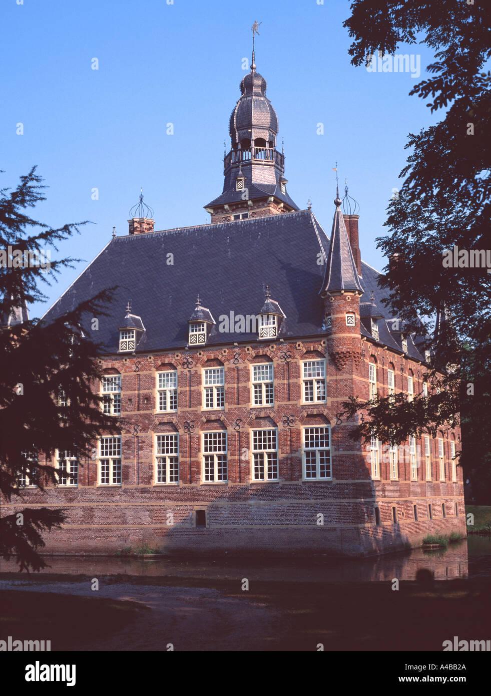 Wijchen Castle in Gelderland Stock Photo