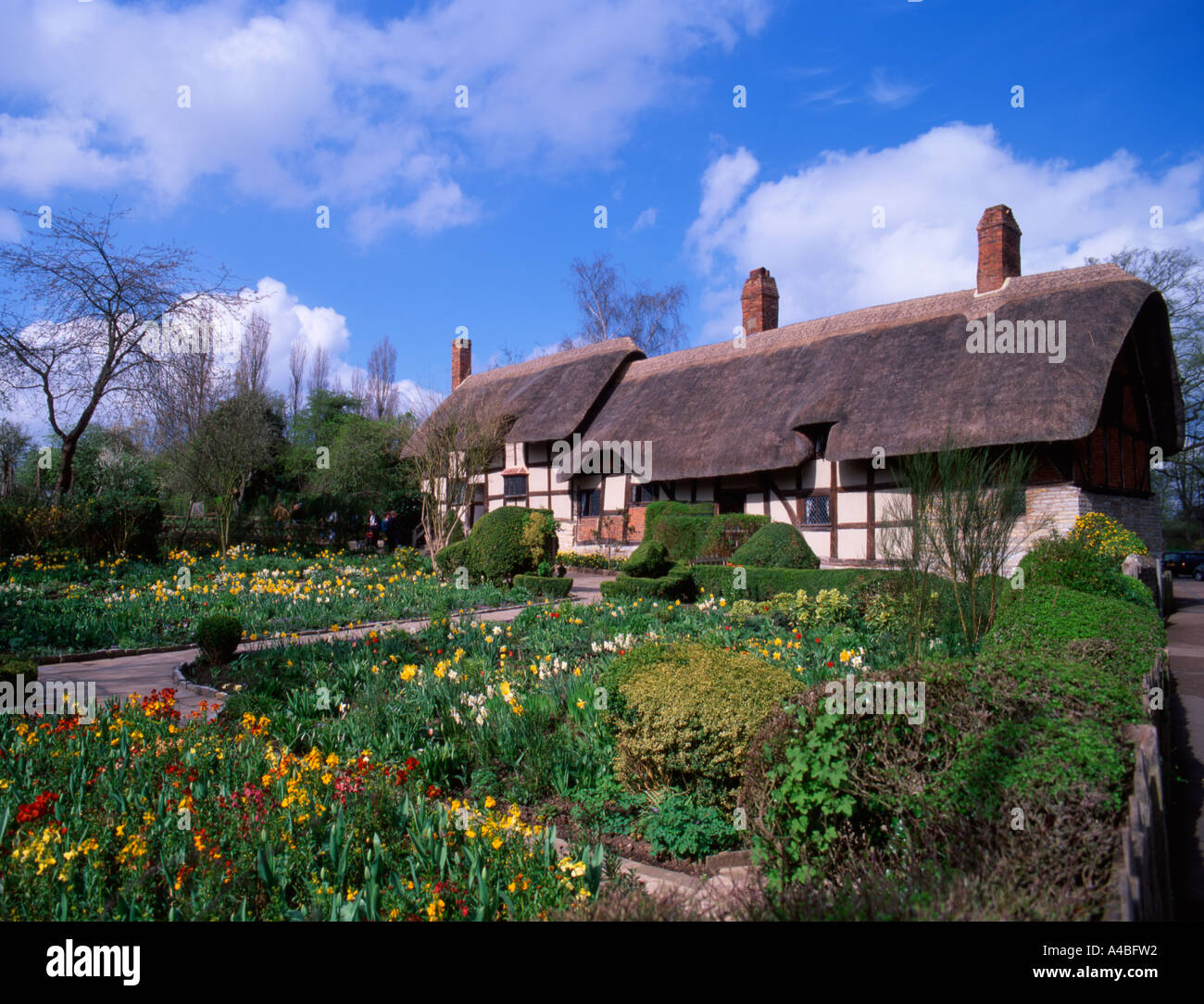 Elizabethan Cottage Stock Photos & Elizabethan Cottage