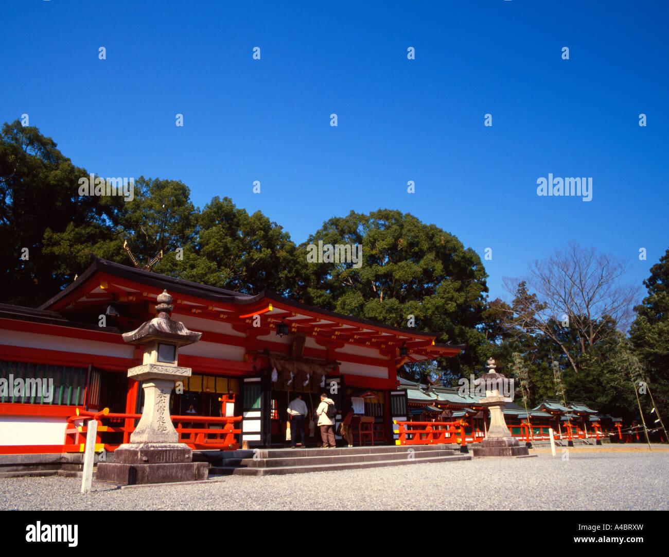 Kumano Hayatama Taisha, Shrine, World Heritage Site, Shingu City, Wakayama Prefecture, Japan Stock Photo
