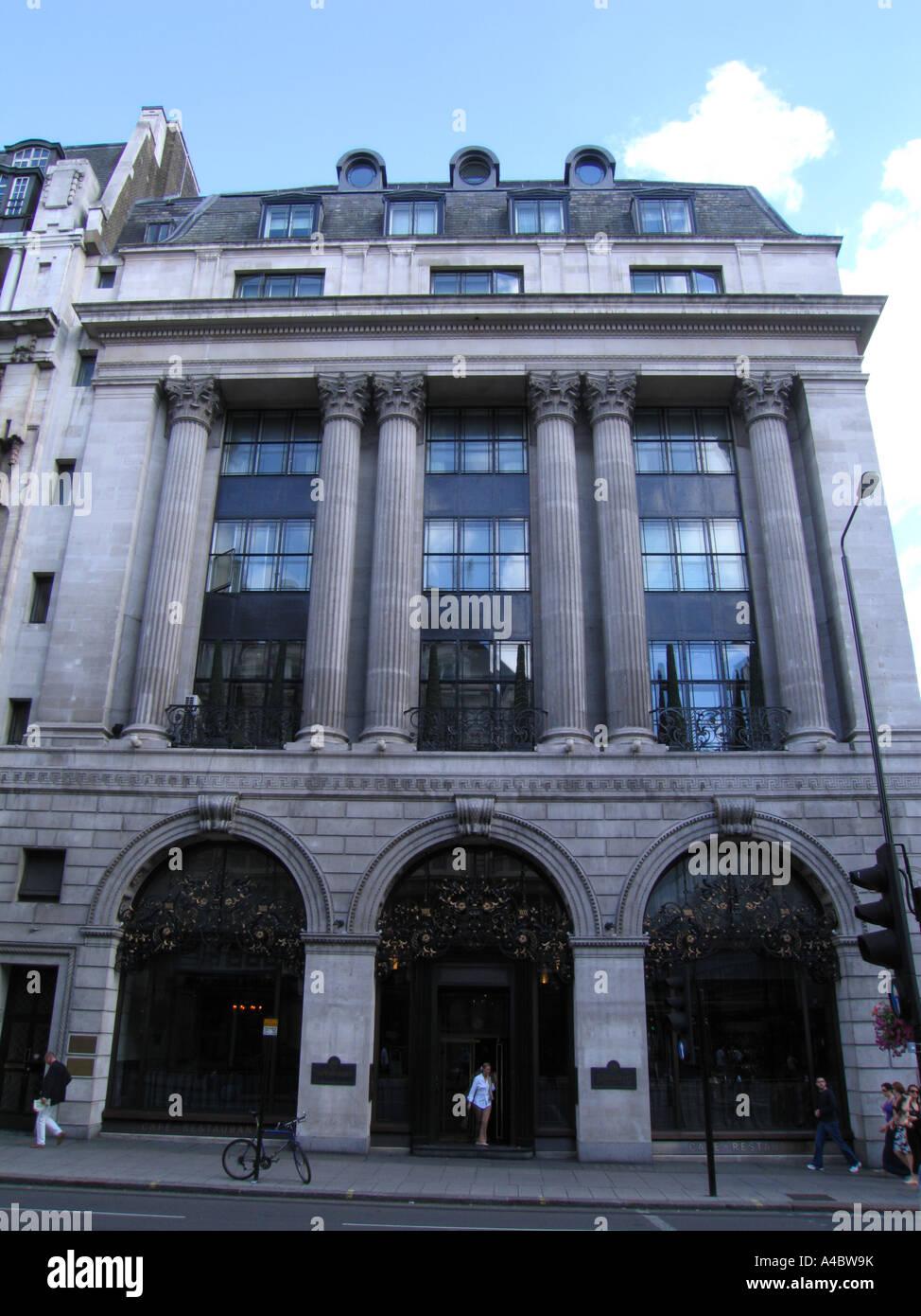 The Wolseley Picadilly London UK - Stock Image